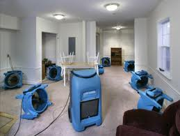 water damage dehumidifiers in